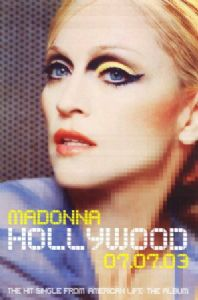 HOLLYWOOD - OFFICIAL 2003 IN-STORE PROMO POSTER